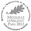 Medaille argent 2012