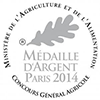 Medaille argent 2014