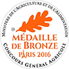 Medaille de bronze 2016