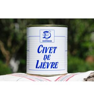 CIVET DE LIÈVRE