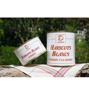 HARICOTS BLANCS CUISINÉS À LA GRAISSE DE CANARD