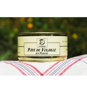 PÂTÉ DE VOLAILLE AUX PIGNONS
