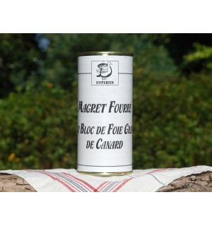 MAGRET FOURRÉ AU BLOC DE FOIE GRAS DE CANARD