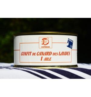 CONFIT DE CANARD GRAS DES LANDES 1 AILE