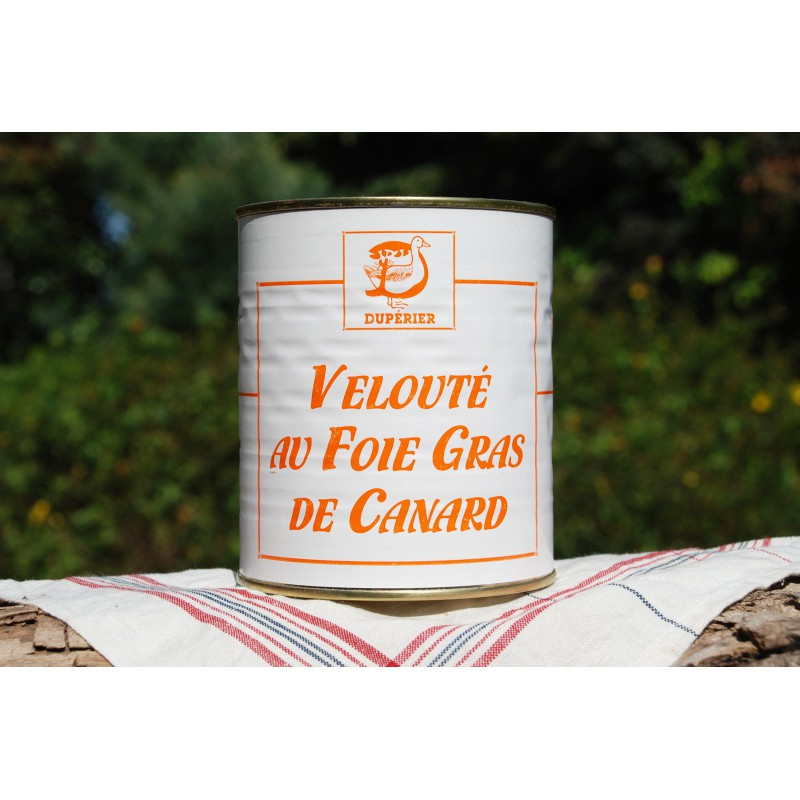 VELOUTÉ DE FOIE GRAS DE CANARD