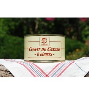 CONFIT DE CANARD GRAS 6 GESIERS
