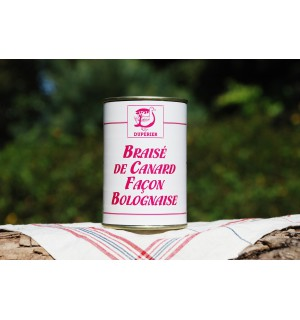 BRAISÉ DE CANARD FAÇON BOLOGNAISE